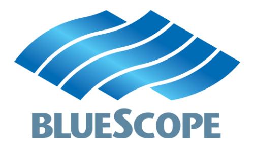 logo blueScope